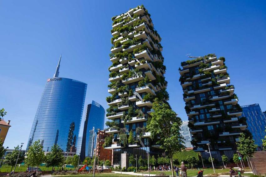 Foresta urbana a Milano